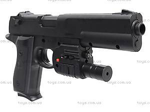 Лазерный пистолет с пульками, P209, фото