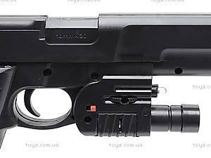 Лазерный пистолет с пульками, P209, игрушки