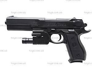 Лазерный пистолет с пульками, P209, детские игрушки