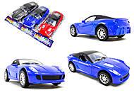 Инерционная игрушка «Легковой автомобиль», 5312-35313-3, фото