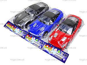 Инерционная игрушка «Легковой автомобиль», 5312-35313-3, магазин игрушек