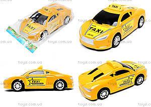 Детская инерционная машинка «Такси», 912A