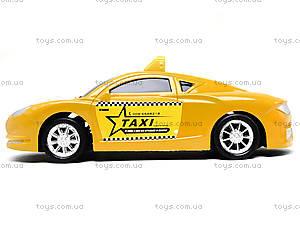 Детская инерционная машинка «Такси», 912A, отзывы