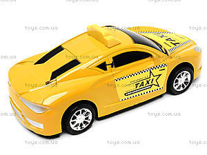Детская инерционная машинка «Такси», 912A, цена