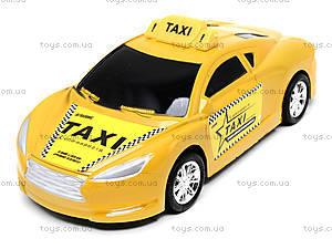 Детская инерционная машинка «Такси», 912A, детские игрушки