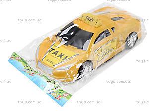 Детская инерционная машинка «Такси», 912A, магазин игрушек
