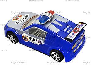 Игрушечная машинка «Полиция» с инерцией, 338-2, купить