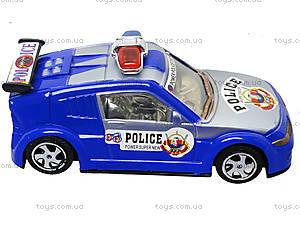 Игрушечная машинка «Полиция» с инерцией, 338-2, фото