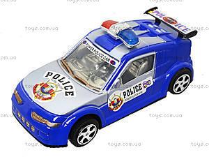 Игрушечная машинка «Полиция» с инерцией, 338-2, отзывы