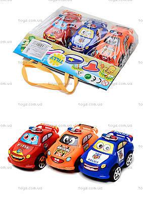 Набор игрушечных машинок «Служебные» , 402