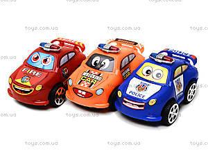 Набор игрушечных машинок «Служебные» , 402, игрушки