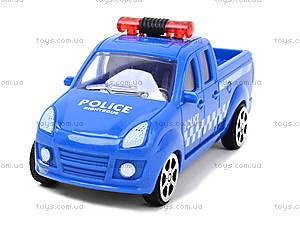 Инерционный автомобиль для детей «Полиция», B56, фото