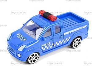 Инерционный автомобиль для детей «Полиция», B56, отзывы