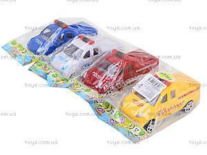 Инерционный автомобиль для детей «Полиция», B56, игрушки