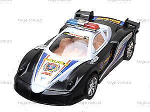 Инерционная машинка «Полиция» для детей, ZY-6578A, купить