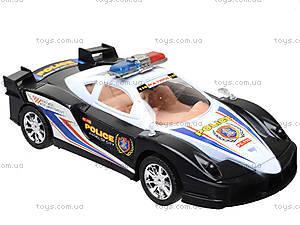 Инерционная машинка «Полиция» для детей, ZY-6578A, фото