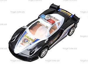 Инерционная машинка «Полиция» для детей, ZY-6578A, отзывы