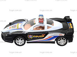 Инерционная машинка «Полиция» для детей, ZY-6578A, цена