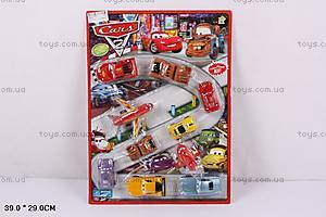 Инерционная машина для детей «Тачки», 399-7H