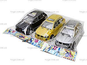 Инерционный автомобиль для детей «БМВ», X899, детские игрушки