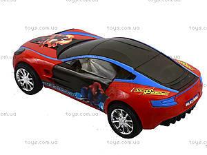 Инерционная машинка с 3D светом, XZ-204A205A, детские игрушки