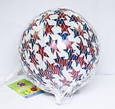Легкий мячик со звездочками, в сетке, YT936, фото