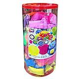 Легкий пластилин в тубусе 105 шт разноцветных, 70027, отзывы