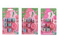 """Лента клейкая """"Фламинго"""" 7шт *5м + диспенсер , E-1010-F, toys.com.ua"""