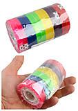 """Лента прозрачная цветная """"Impact"""", размер 8 мм*35м (12 штук в упаковке), 50835, игрушки"""