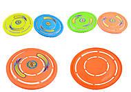 Летающая тарелка «Фрисби», 4 цвета, 3399, детские игрушки