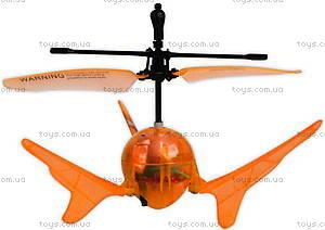 Летающий шар на ИК-управлении Aero Spin, оранжевый, YW859110-3