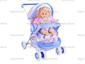 Летняя кукольная коляска с корзиной, 8581, купить