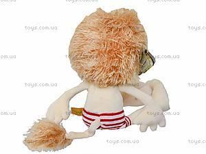 Мягкая игрушка «Лев Лео», К419А, фото