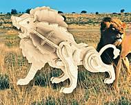 Конструктор деревянный «Лев», Е013, фото