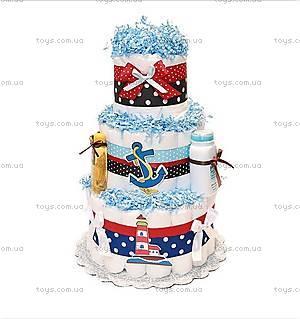 Торт из подгузников для мальчика Lighthouse, PPC21