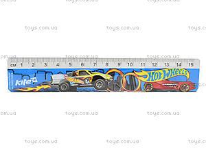 Линейка Hot Wheels, 15 см, HW13-090K, купить