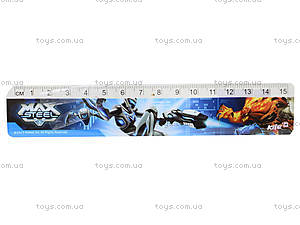 Линейка пластиковая, 15 см, MX14-090K, купить