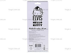 Линейка раскладная Hello Kitty Elvis, HKAP-US1-201-BL1, купить