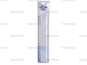 Линейка пластиковая Navigator, 15 см, 72002-NV, фото