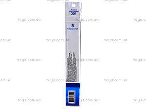Пластиковая линейка Navigator, 20 см, 72003-NV, фото