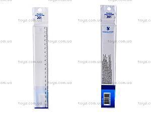 Пластиковая линейка Navigator, 20 см, 72003-NV
