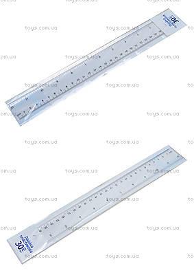 Линейка пластиковая, 30 см, 72004-NV