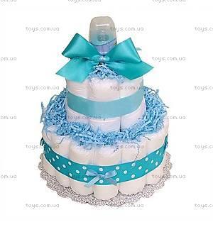 Торт из памперсов для мальчика Little boy, PPC22