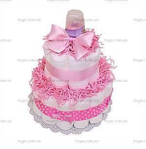 Торт из подгузников для девочки Little girl, PPC23