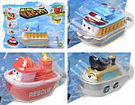 Заводная игрушка «Лодка», 632122, набор