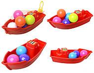Лодка с 6 шариками, 01-117, игрушка