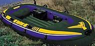 Лодка с насосом и алюминиевыми веслами, 68351