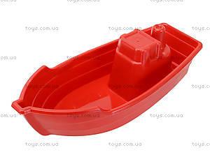 Лодка с песочным набором, 01-116, детские игрушки