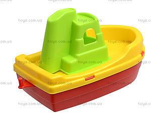 Игрушечный катер «Буксир», 01-111-1, детские игрушки