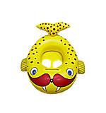 Лодочка надувная «Морж» (желтый), BT-IG-0046, детские игрушки